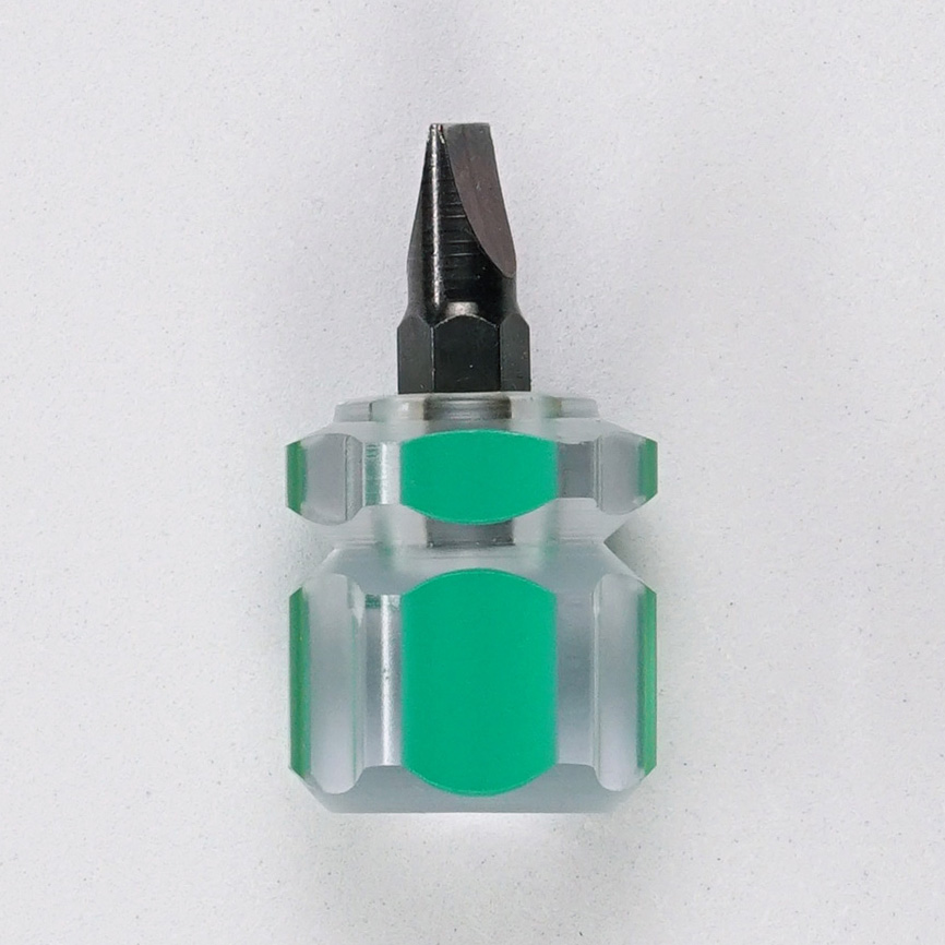 dome screwdriver flat small