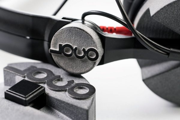 LOCONOISE Sennheiser HD25 3d printed DJ headphones custom mod customized logo sand black